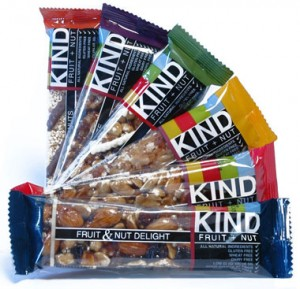 healthy snacks at work include Kind bars