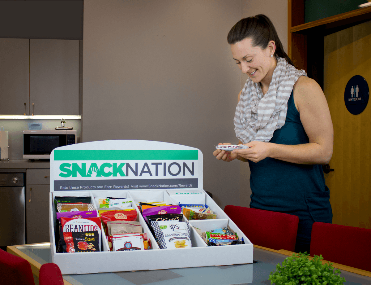 corporate wellness program ideas - healthy snack delivery