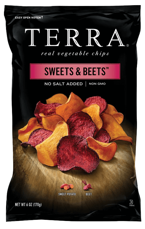 terra chips sweets and beets healthy snacking