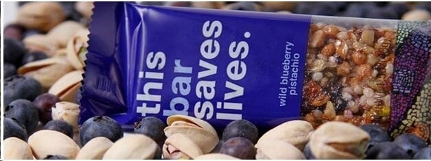 this bar saves lives blueberry