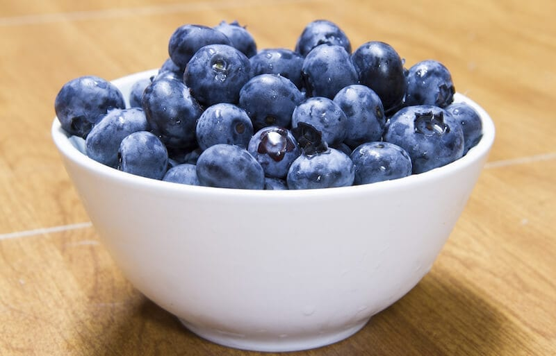 blueberries - superfoods to increase productivity
