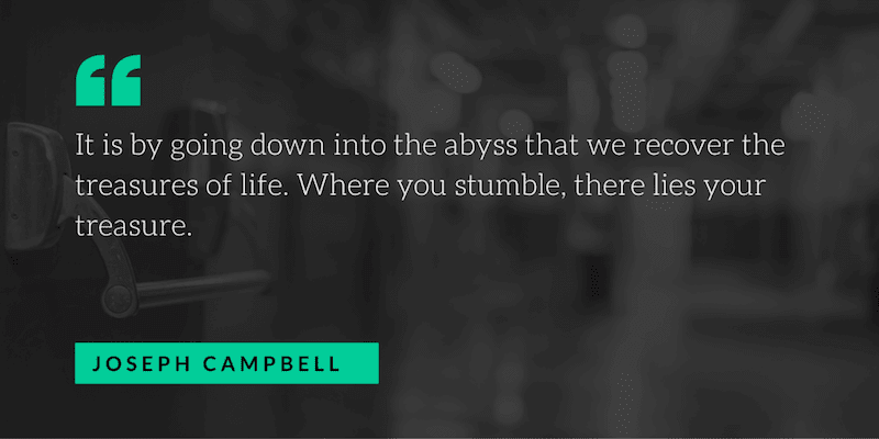 joseph campbell motivational quote