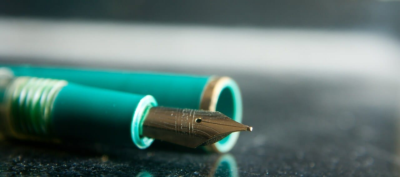 fun office supplies, fountain pens