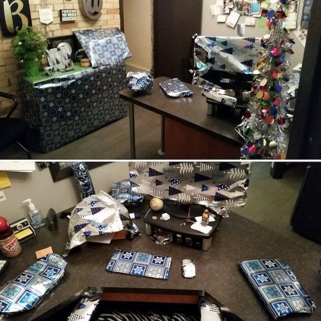 Hilarious Office Pranks That Hopefully Wont Get You Fired - 19 best office desk pranks youve ever seen