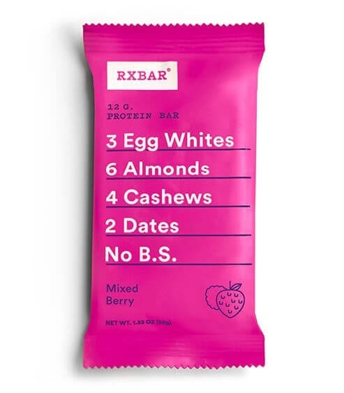 RXBAR Mixed Berry