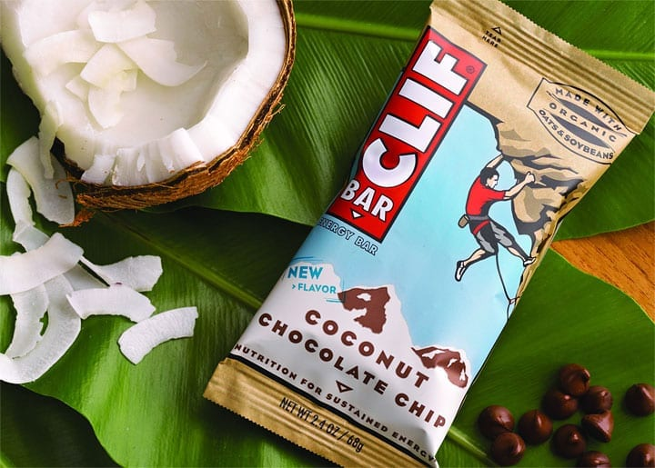Clif BarⓇ Coconut Chocolate Chip Energy Bar