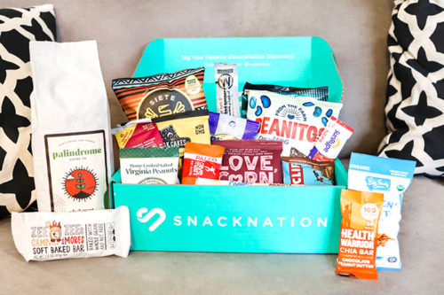 SnackNation Work-From-Home Wellness Box