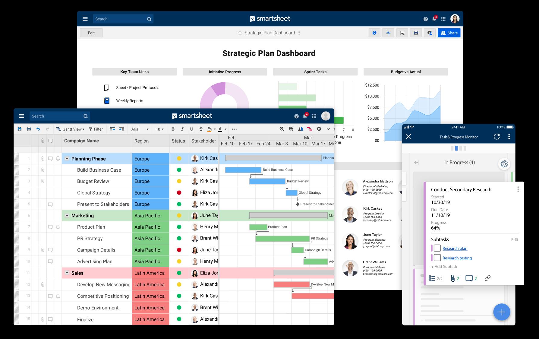 Smartsheet-Remote-Work-Software