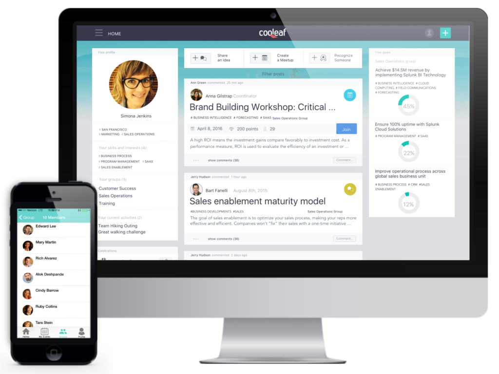 Cooleaf-Employee-Recognition-Software