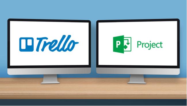Trello-Microsoft-Project