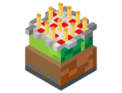 Virtual Minecraft Party-Birthday
