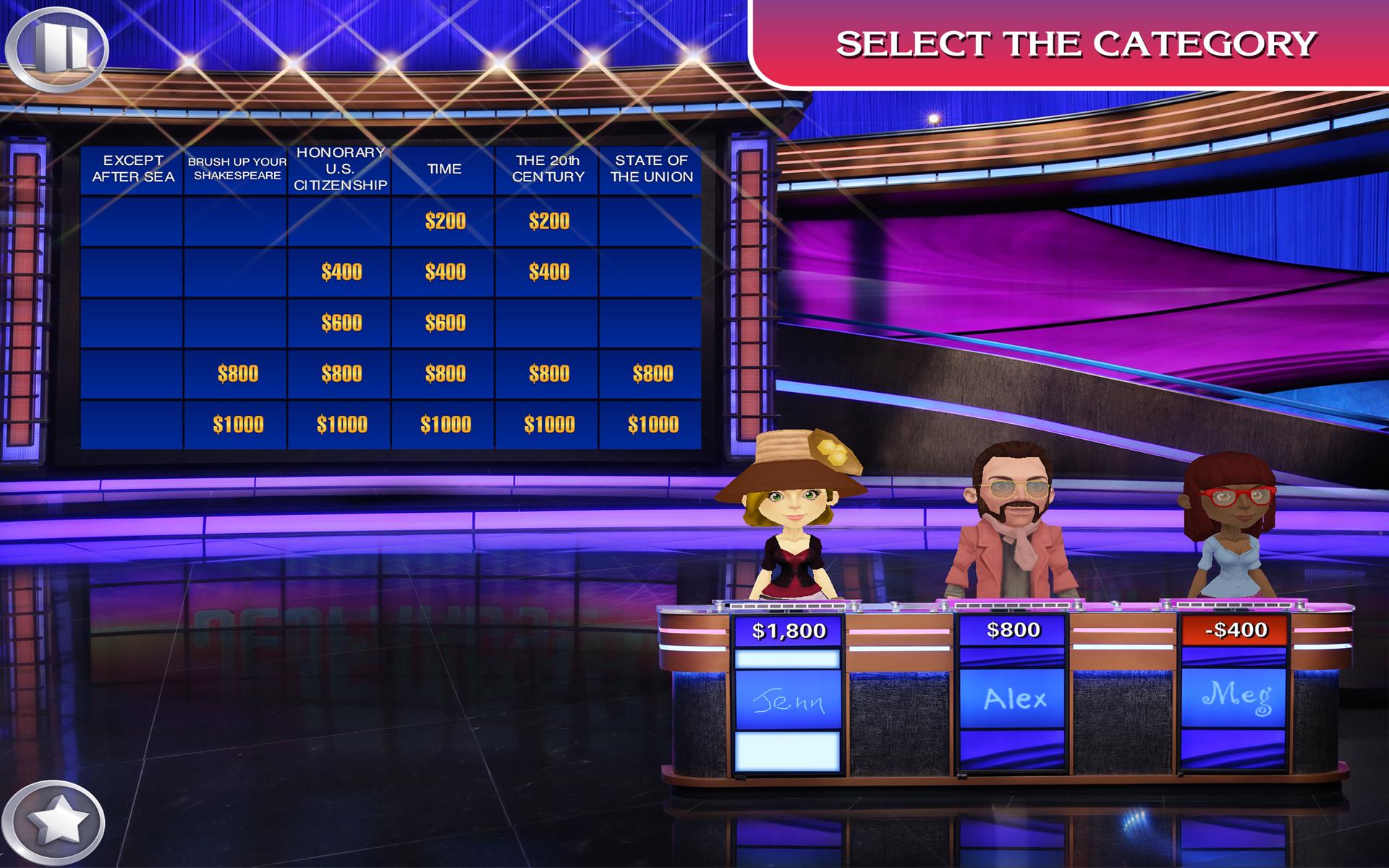 Jeopardy-Apps