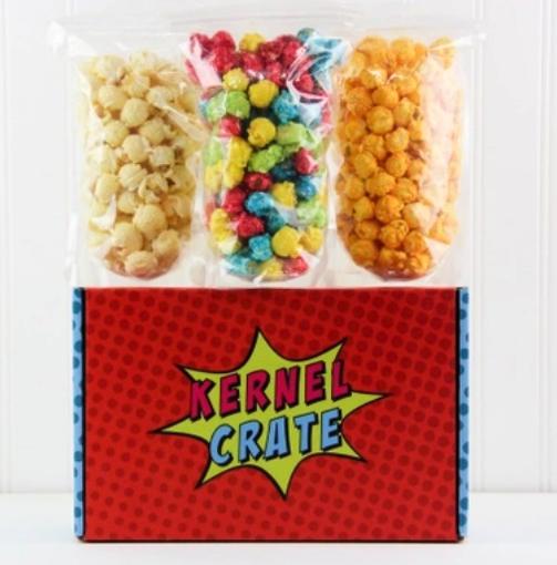 Kernel Crate Popcorn Box