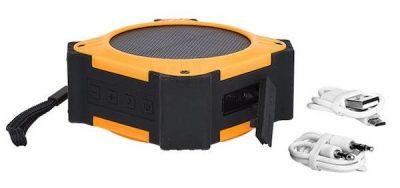 Solar Waterproof Speaker Conference Swag Idea