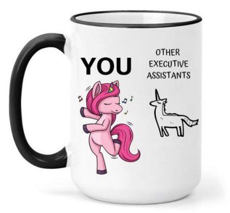 Executive Assistant Unicorn Mug