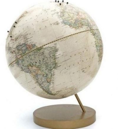 Push Pin Travel Globe