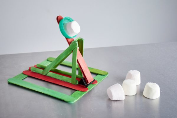 Marshmallow Catapult Challenge