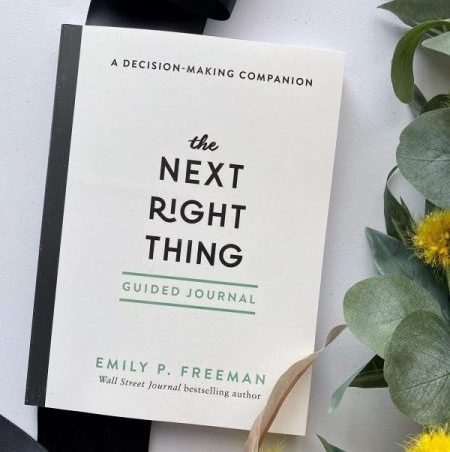 The Next Right Thing Journal