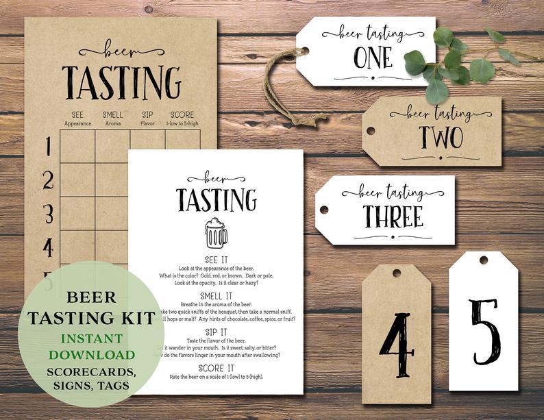 beer-tasting-party-kit