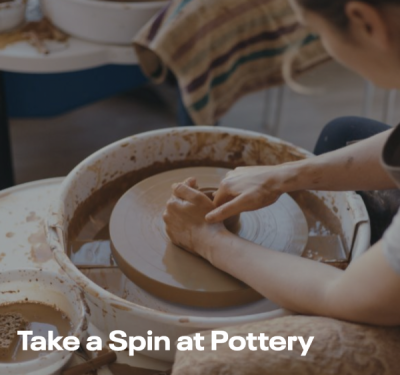Take a Spin At Pottery