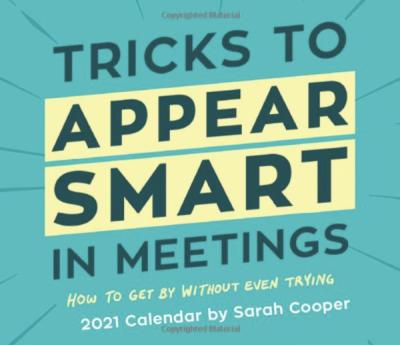 Meeting Tricks Calendar