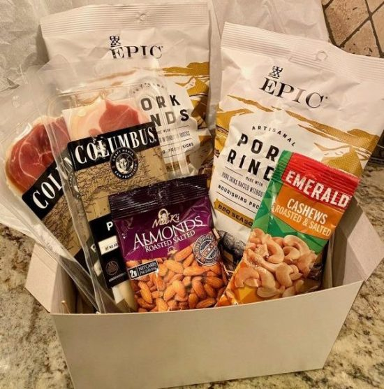 Whole30 Low Carb Snack Box