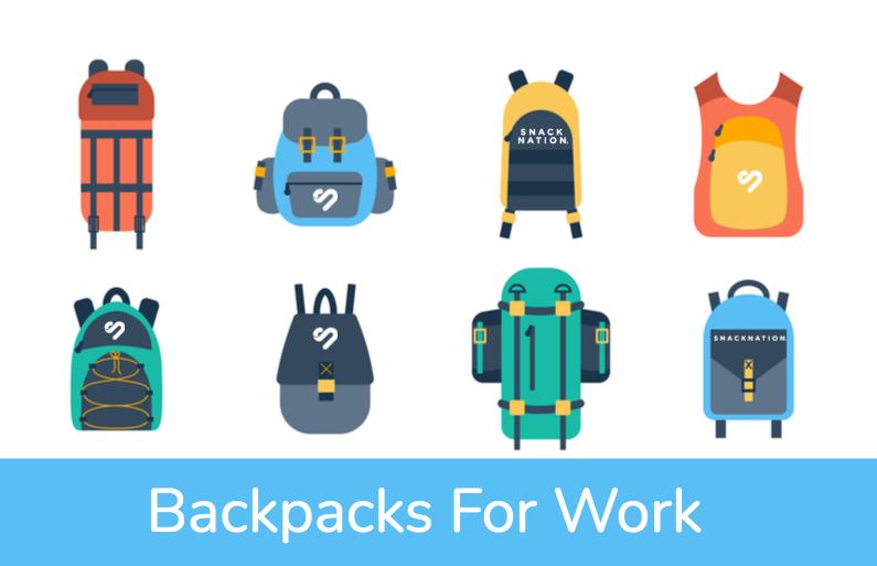 Best Backpacks For Work-SnackNation