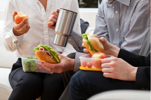 Eat Lunch Anywhere But at Your Desk