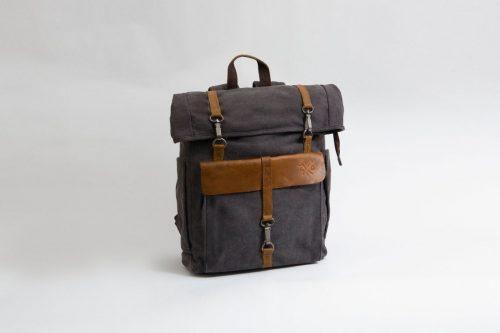 Heavy-Duty Canvas Backpack