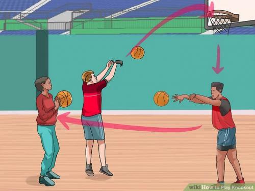 Knockout-Basketball-Game