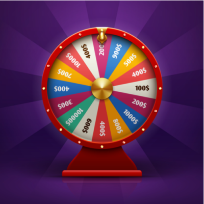 Spin A Wheel Of Prizes