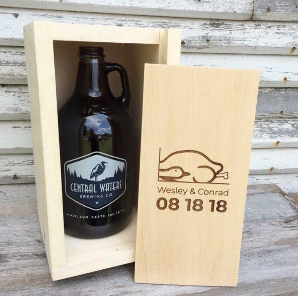 Wooden Beer Growler