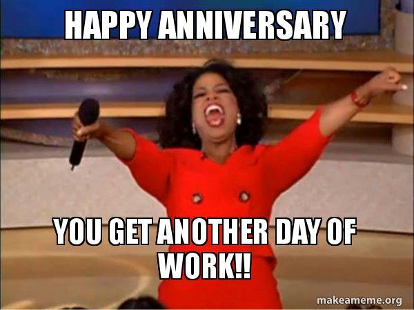 oprah work anniversary