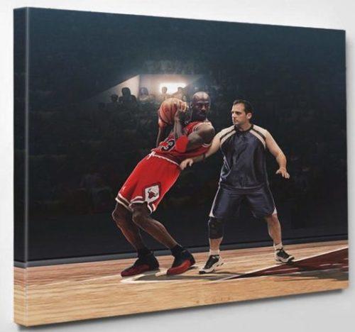 Michael-Jordan-Michael-Scott-sports-poster