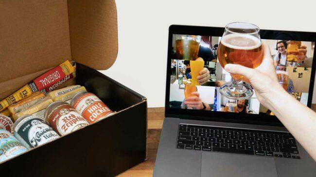 Virtual Happy Hour Beer & Cheese