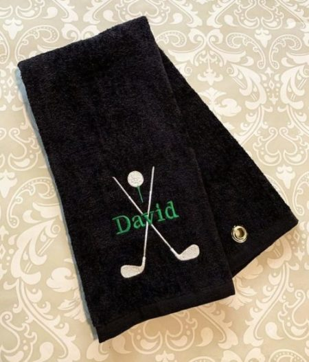 Personalized Golf Bag Towel