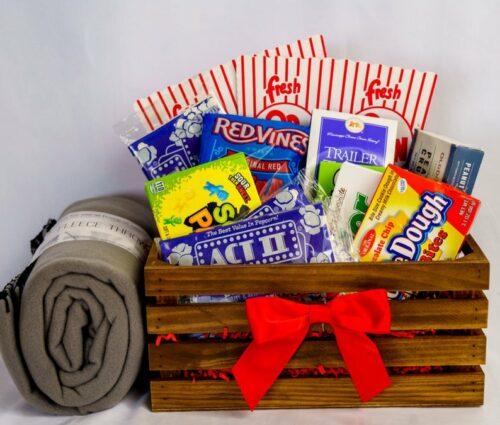 Movies at Home Gift Basket