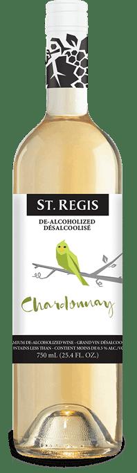 St Regis Chardonnay, De-Alcoholized