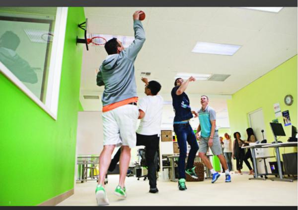 Mini Basketball Hoop Tournament