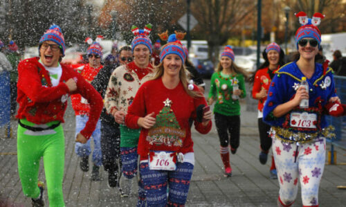 holiday relay race