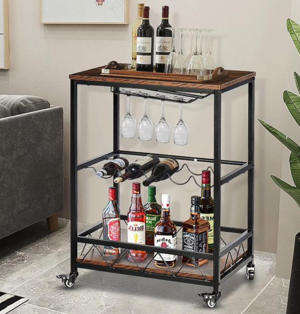 Industrial-Bar-Cart