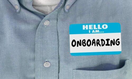 Set up an onboarding process